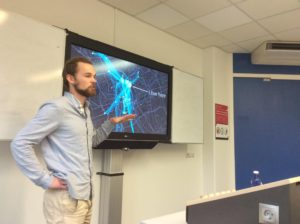 """Guest professor, lecturing about Quantified Self at Master """"DigitalHumanities"""" at University of Groningen"""